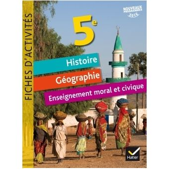 Fiches D Activites Histoire Geographie Emc 5e Ed 2017