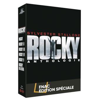 RockyCoffret Rocky Anthologie Edition Spéciale Limitée Fnac DVD