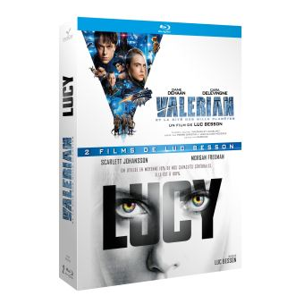 Valérian et LaurelineCoffret Valérian et la Cité des Mille Planètes et Lucy Blu-ray