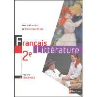 Francais 2ed litterature rince