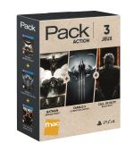Pack Fnac 3 jeux Action 2 PS4 Call of Duty Black Ops 3 + Diablo 3 Ultimate Evil Edition + Batman Arkham Knight