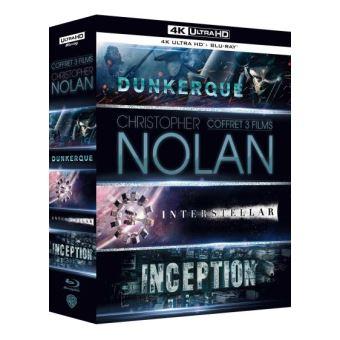 Coffret Christopher Nolan Blu-ray 4K Ultra HD