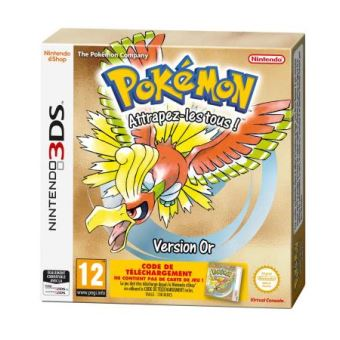 Pokemon Gold FR 3DS