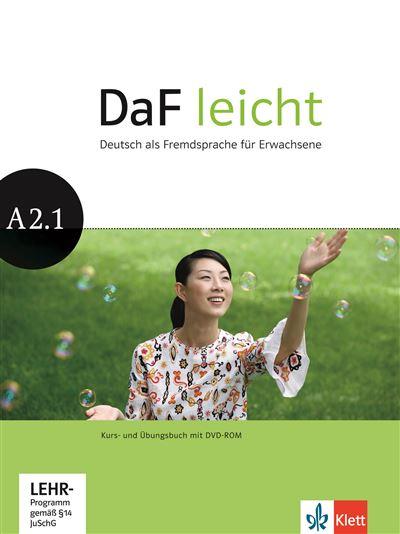 Daf leicht a2.1 -livre + cahier + dvd-rom