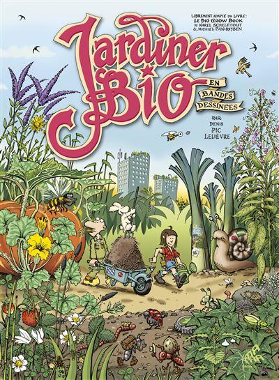 Jardiner bio en bandes dessinées