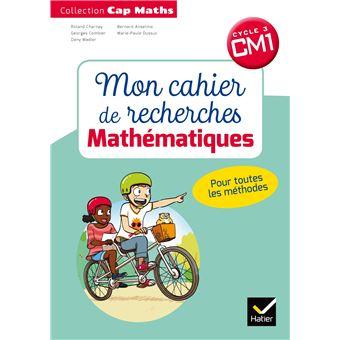 CAP Maths  CM1 Éd.2018 - Mon cahier de recherche
