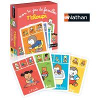 Jeu de cartes Mon premier jeu de familles T'Choupi Nathan