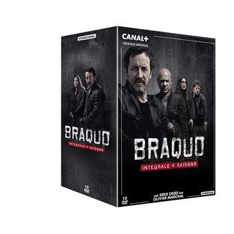 BraquoCoffret Braquo Saisons 1 à 4 DVD