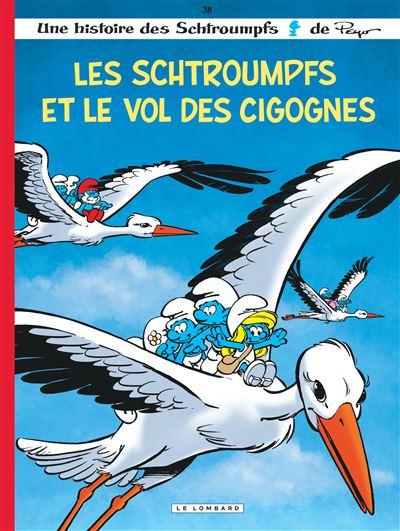 Les Schtroumpfs Lombard - Les Schtroumpfs et le vol des cigognes