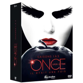 Once Upon a TimeOnce Upon a Time Saisons 1 à 5 Coffret DVD