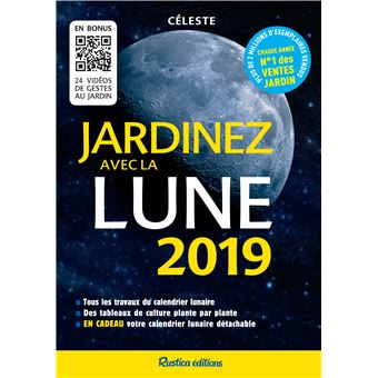 jardinez avec la lune 2019 broch c leste achat livre fnac. Black Bedroom Furniture Sets. Home Design Ideas