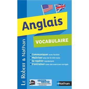 Le robert nathan vocabulaire de l 39 anglais broch collectif achat livre fnac - Vocabulaire anglais vente pret a porter ...
