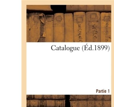 Catalogue Partie 1