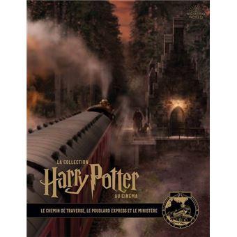 Harry PotterLa collection Harry Potter au cinéma : Le chemin de traverse, le Poudlard Express et le ministère