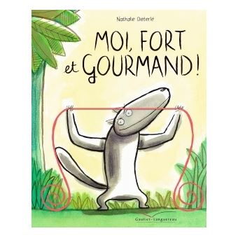 Moi, fort et gourmand !-visual
