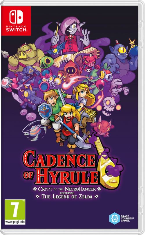 Cadence of Hyrule Crypt of the NecroDancer Featuring The Legend of Zelda Nintendo Switch