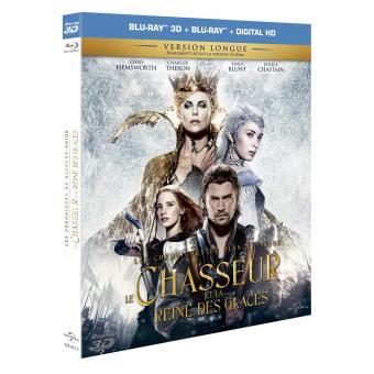 Le Chasseur et la Reine des Glaces Blu-Ray 3D + 2D