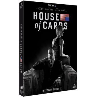 House of cardsHouse of cards Coffret intégral de la Saison 2 - DVD