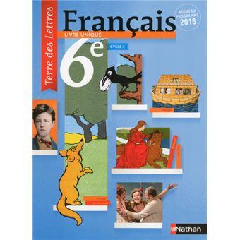Terre Des Lettres Francais 6eme 2016 Manuel Eleve Format Compact