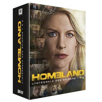 HomelandCoffret Homeland Saisons 1 à 6 DVD