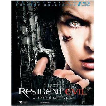 Resident EvilCoffret Resident Evil 1 à 6 Blu-ray