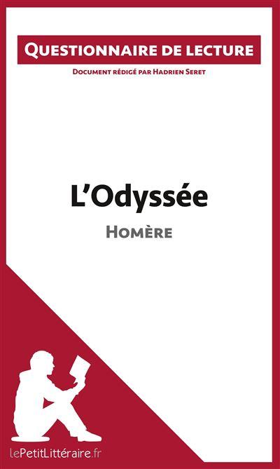 Questionnaire de lecture : L'Odyssée d'Homère