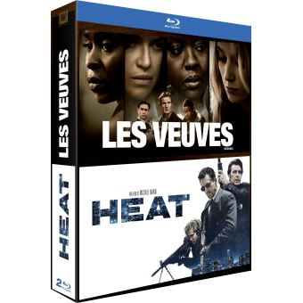 Coffret Les Veuves et Heat Blu-ray