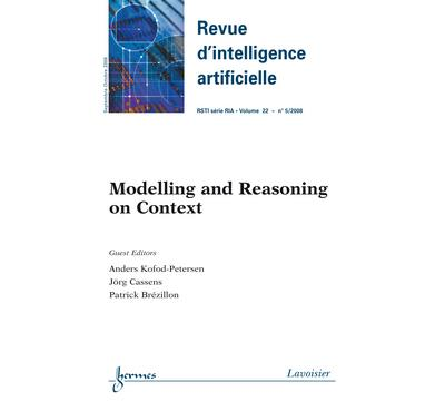 Modelling and reasoning on context revue d'intelligence arti