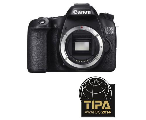 Reflex Canon EOS 70D Boîtier Nu WiFi intégré