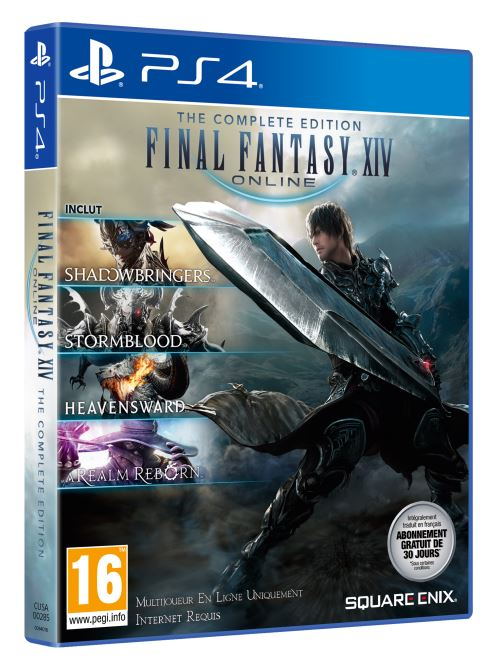 Final Fantasy XIV Shadowbringers Complete Edition PS4