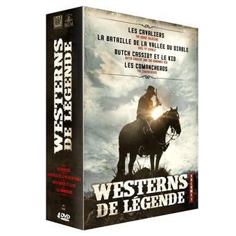 Coffret Westerns de légende Volume 1 - 4 films DVD