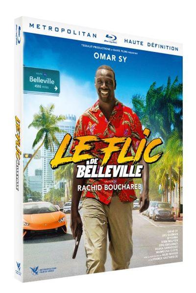 blu-ray du film Le flic de Belleville
