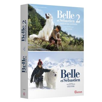 Coffret Belle et Sébastien Version 2016 2 films DVD