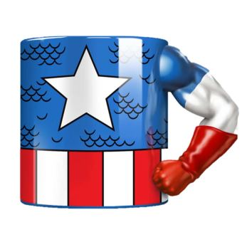 Arm Mug Captain America