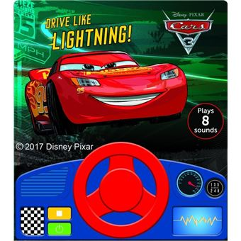 Cars Livre Sonore Avec Volant Tome 3 Conduis Comme Flash Mcqueen