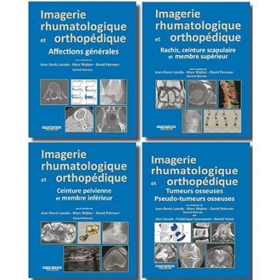 Imagerie rhumatologique et orthopedique en 4 tomes