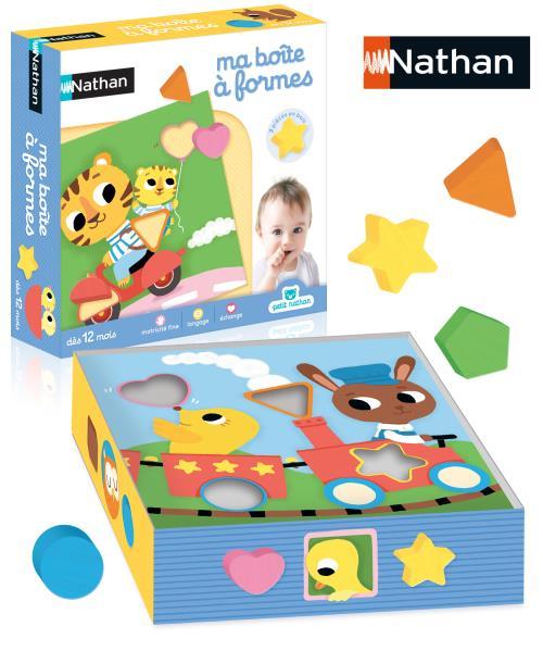 Boîte à formes Nathan