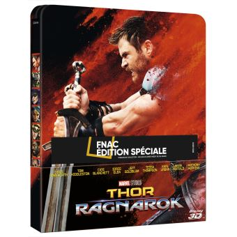 Thor 3 :Ragnarok Thor-Ragnarok-Edition-speciale-Fnac-Steelbook-Blu-ray-2D-3D