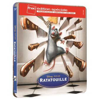 RATATOUILLE-FR-FNAC-STEELBOOK BLURAY+DVD