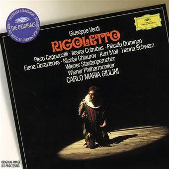 Rigoletto/inclus livre + blu ray audio