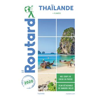 Carte Thailande Le Routard.Guide Du Routard Thailande 2020