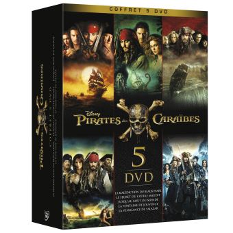 Pirate Des CaraïbesPirates des Caraïbes L'intégrale Coffret DVD
