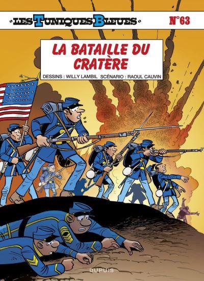 Les Tuniques Bleues - tome 63 - La bataille du Cratère