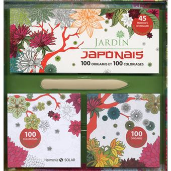 coffret jardin japonais origami et coloriages bo te ou accessoire collectif achat livre fnac. Black Bedroom Furniture Sets. Home Design Ideas