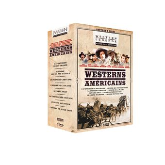 Coffret Westerns Américains 8 Films DVD