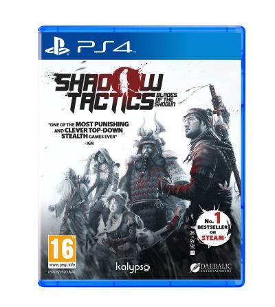 Shadows Tactics Blades of the Shogun PS4