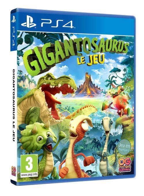 Gigantosaurus Le Jeu PS4