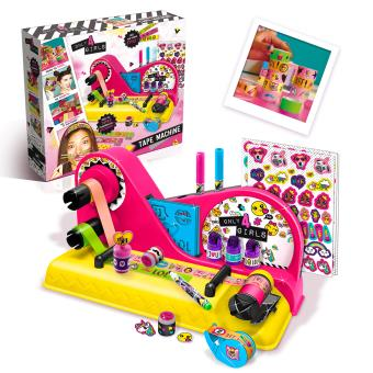 kit cr atif tape machine canal toys kit loisir cr atif achat prix fnac. Black Bedroom Furniture Sets. Home Design Ideas