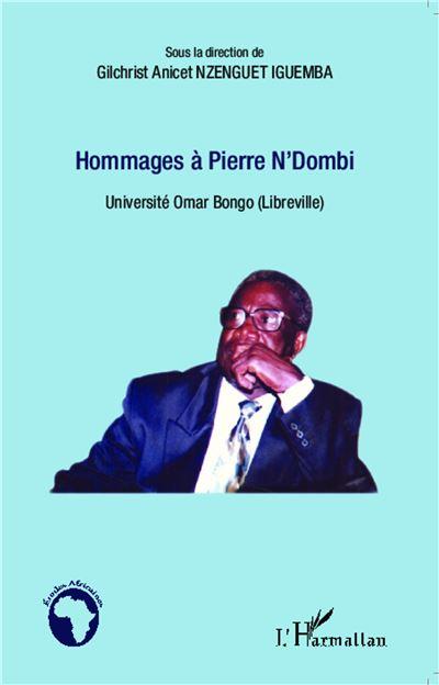 Hommages à Pierre N'Dombi