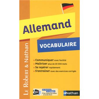 Carte Allemagne Nathan.Robert Nathan Vocabulaire Allemand